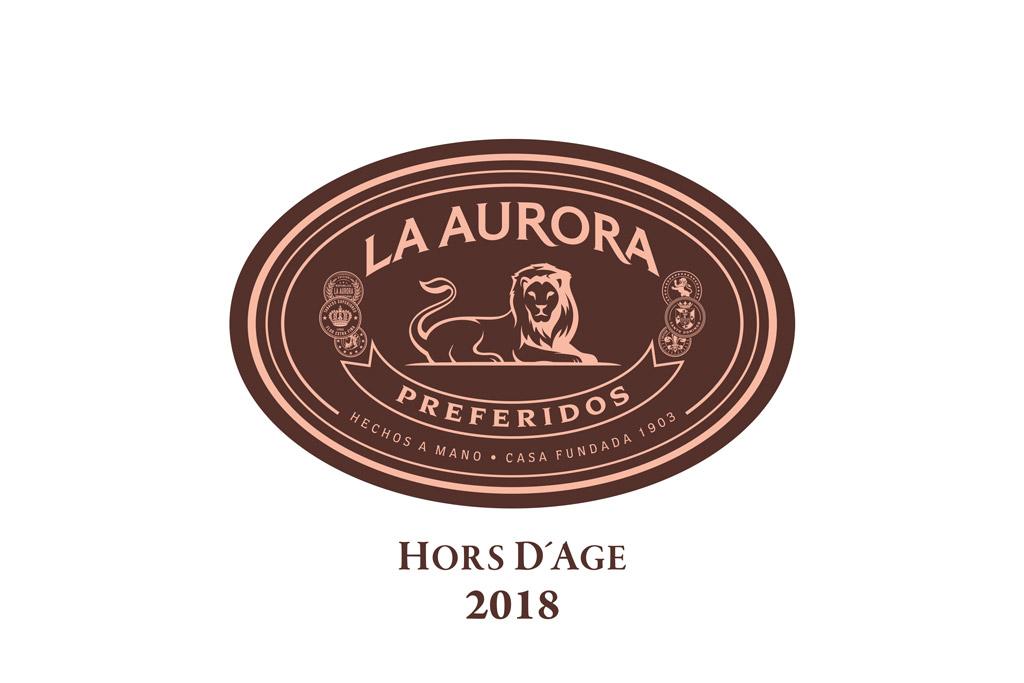 La Aurora Preferidos Hors d'Age 2018 logo