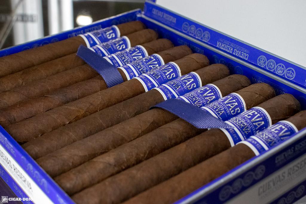 Cuevas Reserva Maduro cigars IPCPR 2019
