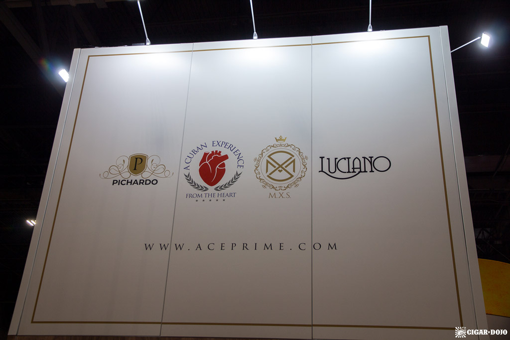 A.C.E. Prime cigar booth IPCPR 2019