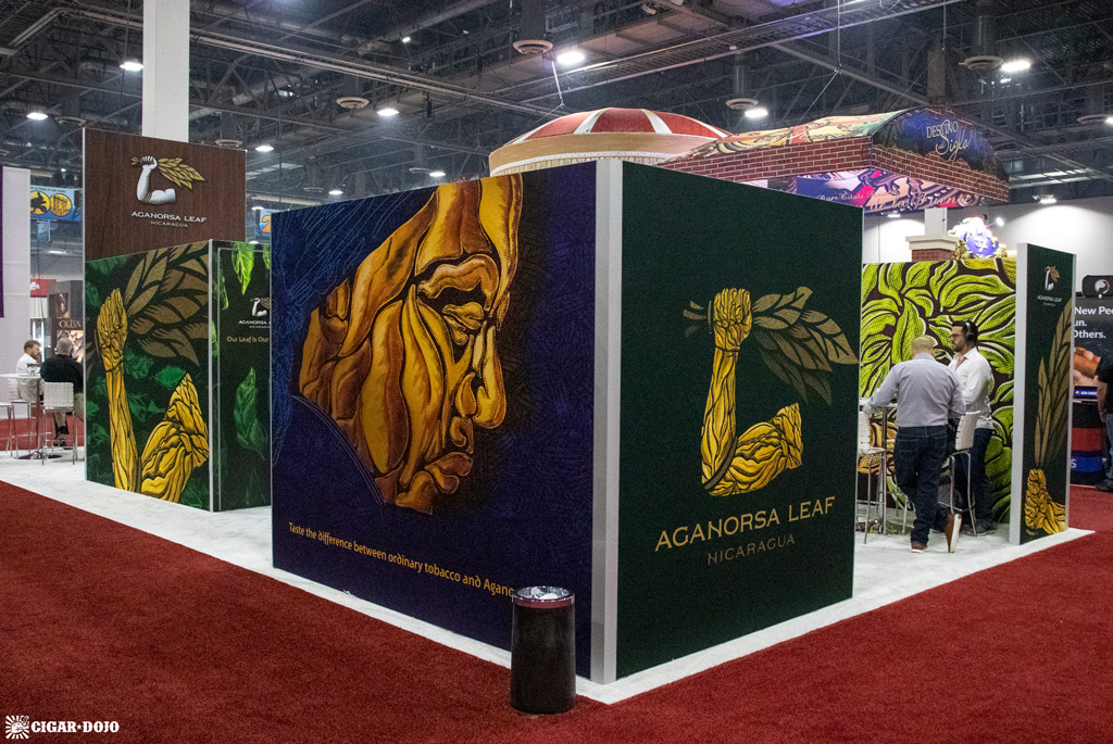 Aganorsa Leaf booth IPCPR 2019