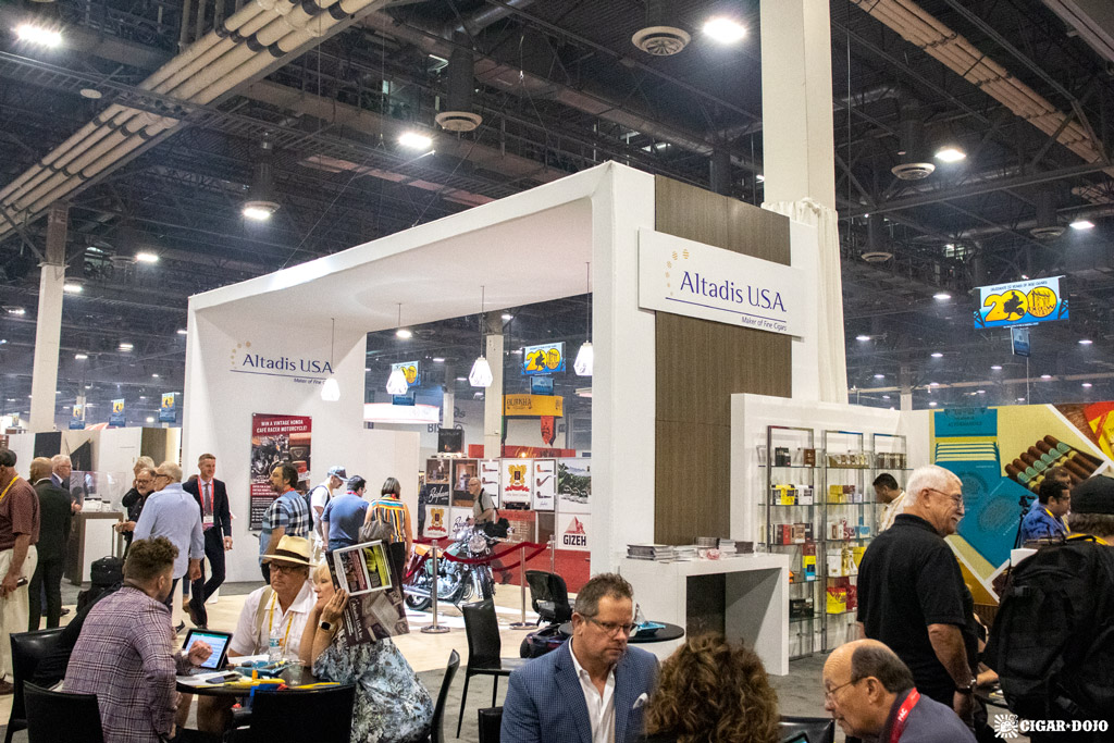 Altadis USA booth IPCPR 2019