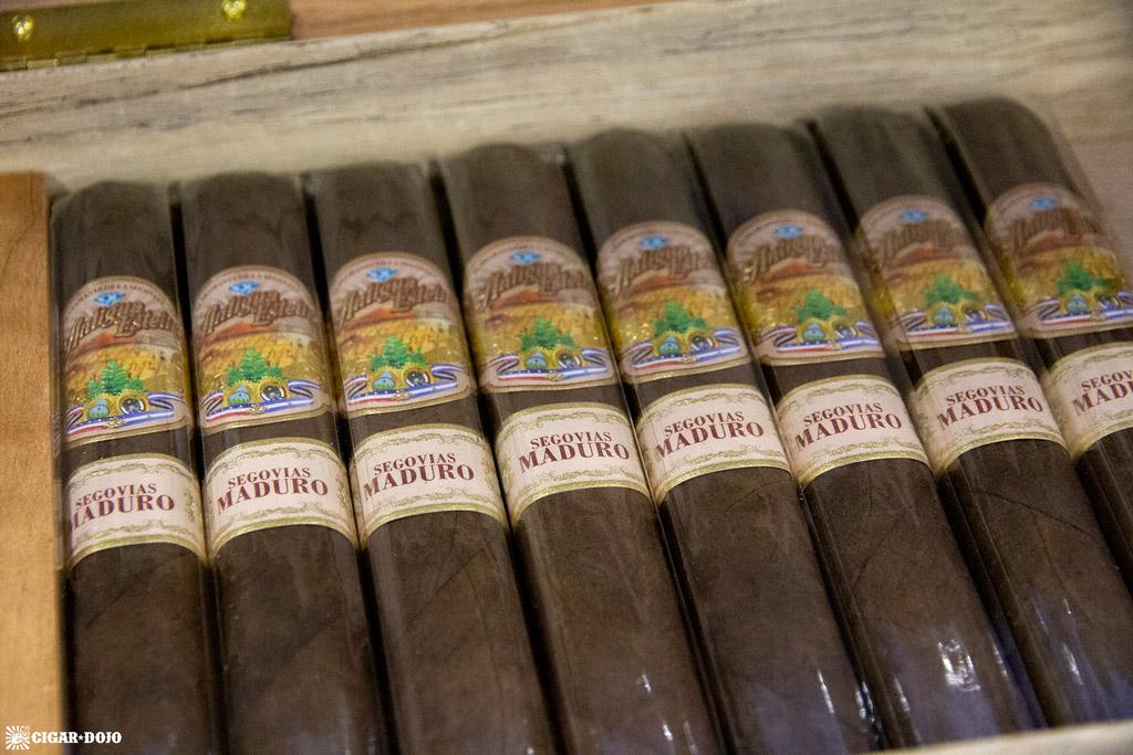 Antigua Estelí Segovias Maduro cigars IPCPR 2019