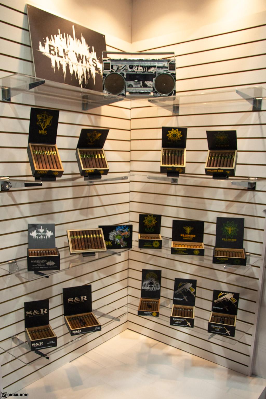 Black Works Studio cigars display IPCPR 2019