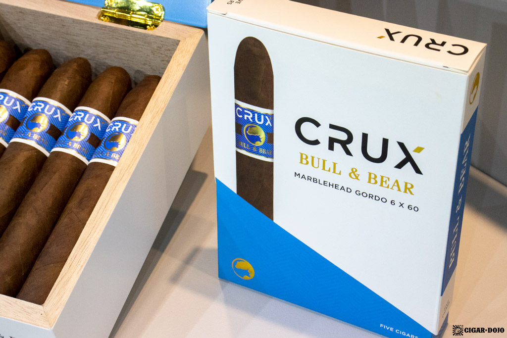 Crux Bull & Bear cigars re-branded 5-pack IPCPR 2019