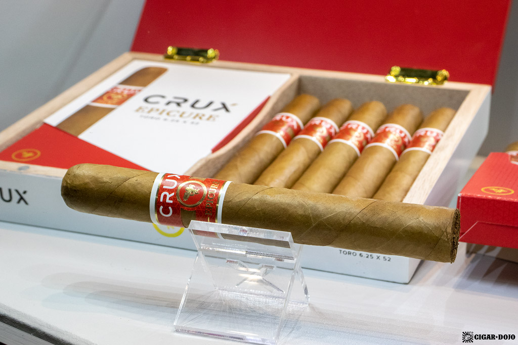 Crux Epicure cigars re-branded IPCPR 2019