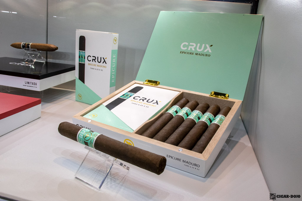 Crux Epicure Maduro cigars re-branded IPCPR 2019