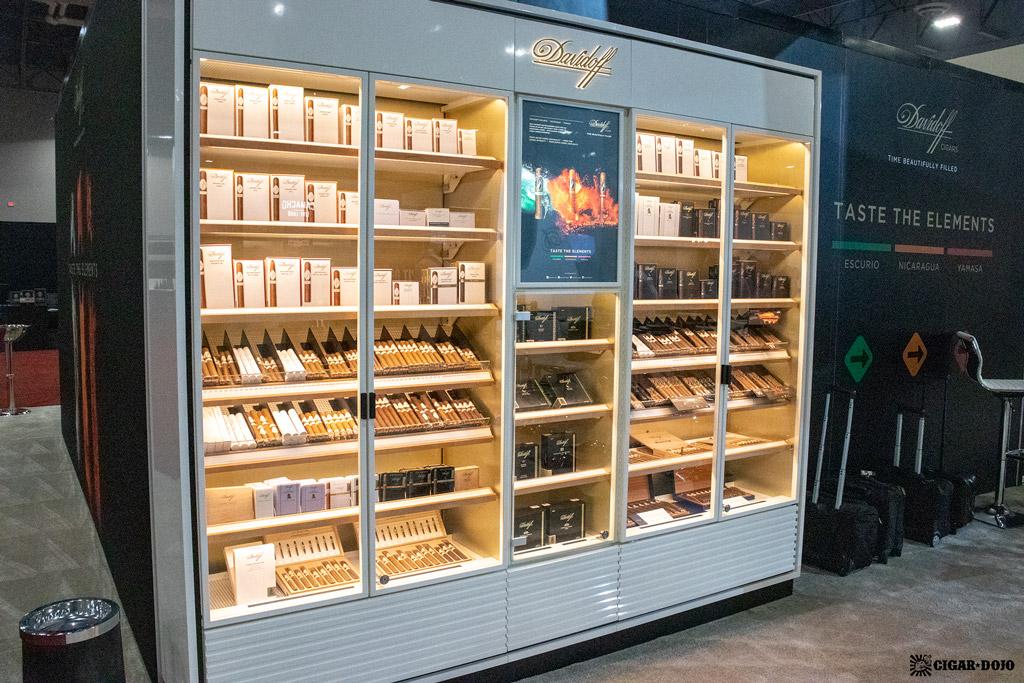 Davidoff Cigars humidor IPCPR 2019