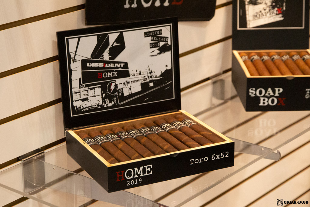 Dissident Cigars Home display IPCPR 2019