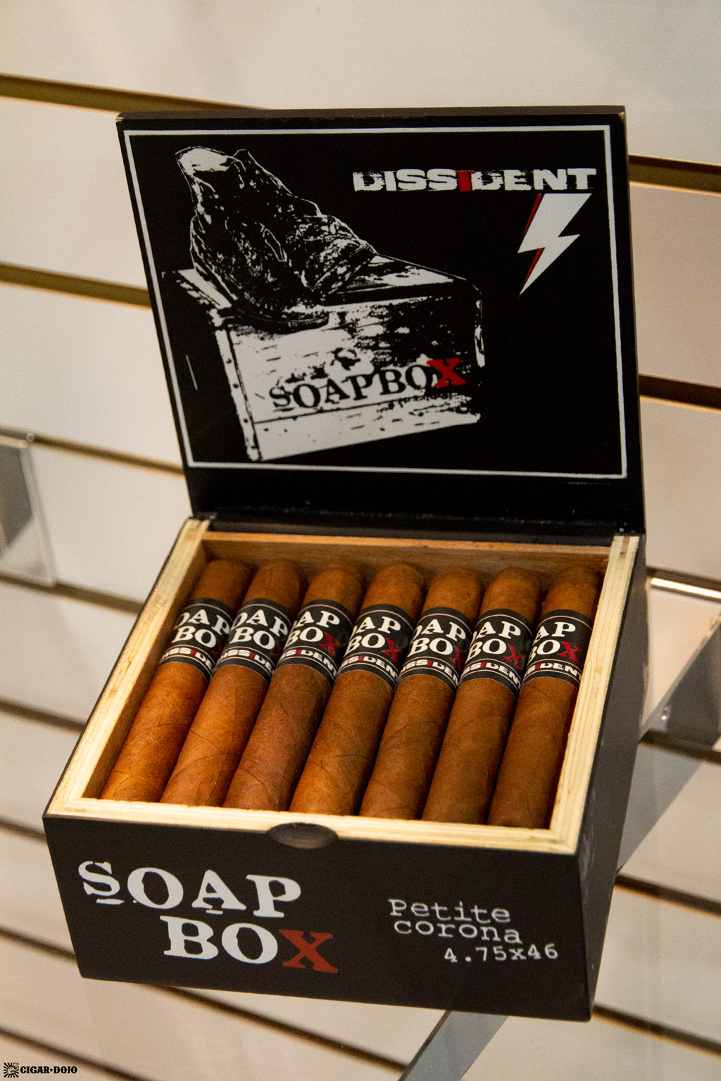 Dissident Cigars Soapbox display IPCPR 2019