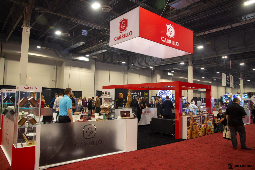 EPC Cigar Co. booth IPCPR 2019