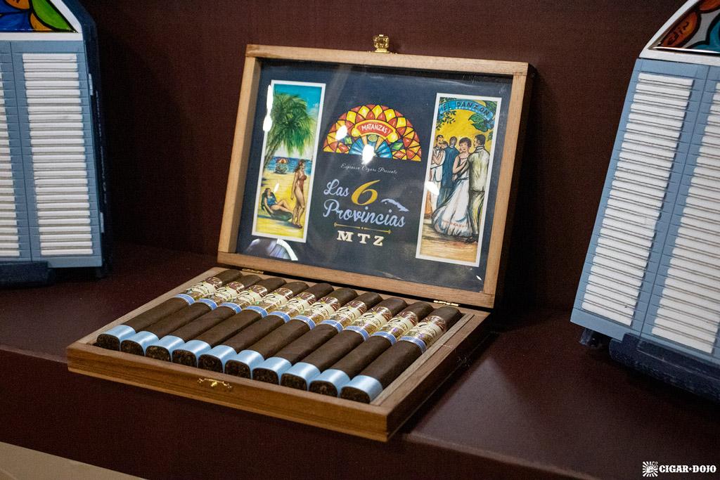 Espinosa Premium Cigars Las 6 Provincias MTZ plain box IPCPR 2019