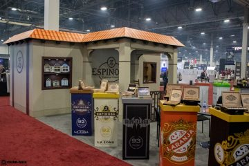 Espinosa Premium Cigars booth IPCPR 2019