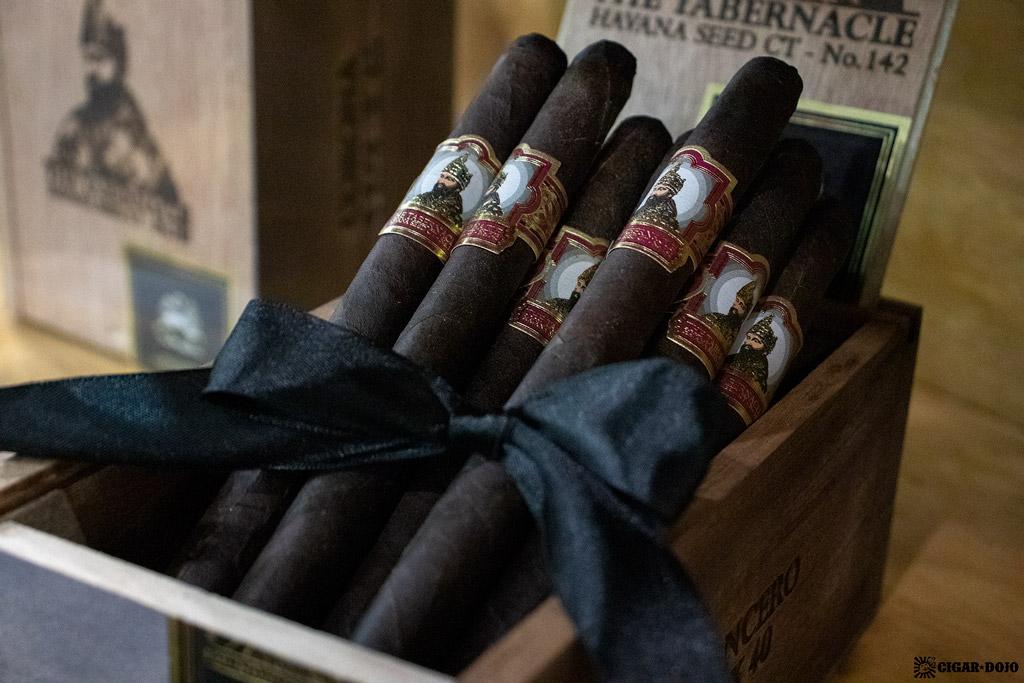 Foundation Cigar Company The Tabernacle Havana Seed CT No. 142 Lancero cigars IPCPR 2019