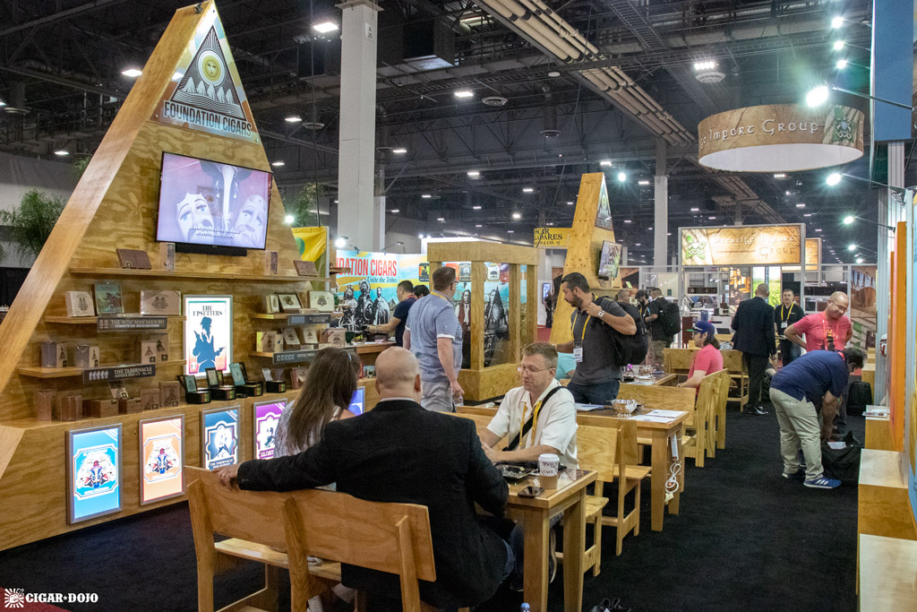 Foundation Cigar Company booth overview IPCPR 2019