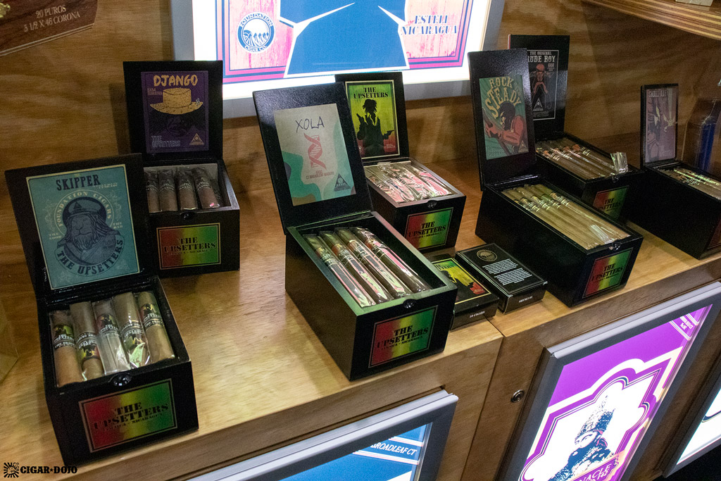 Foundation Cigar Company The Upsetters updated packaging IPCPR 2019