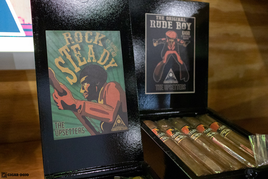 Foundation Cigar Company The Upsetters Rock Steady updated packaging IPCPR 2019