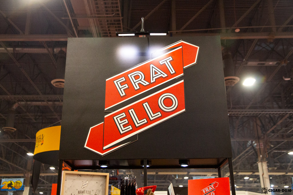 Fratello Cigars booth IPCPR 2019