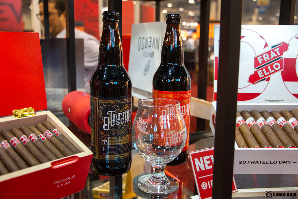 Fratello Cigars beer pairing IPCPR 2019