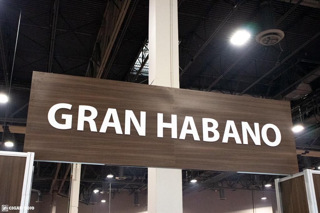 Gran Habano booth IPCPR 2019