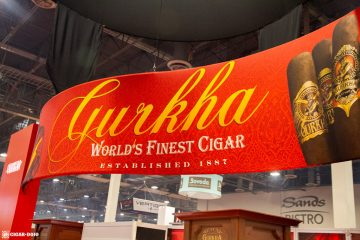 Gurkha Cigars booth IPCPR 2019