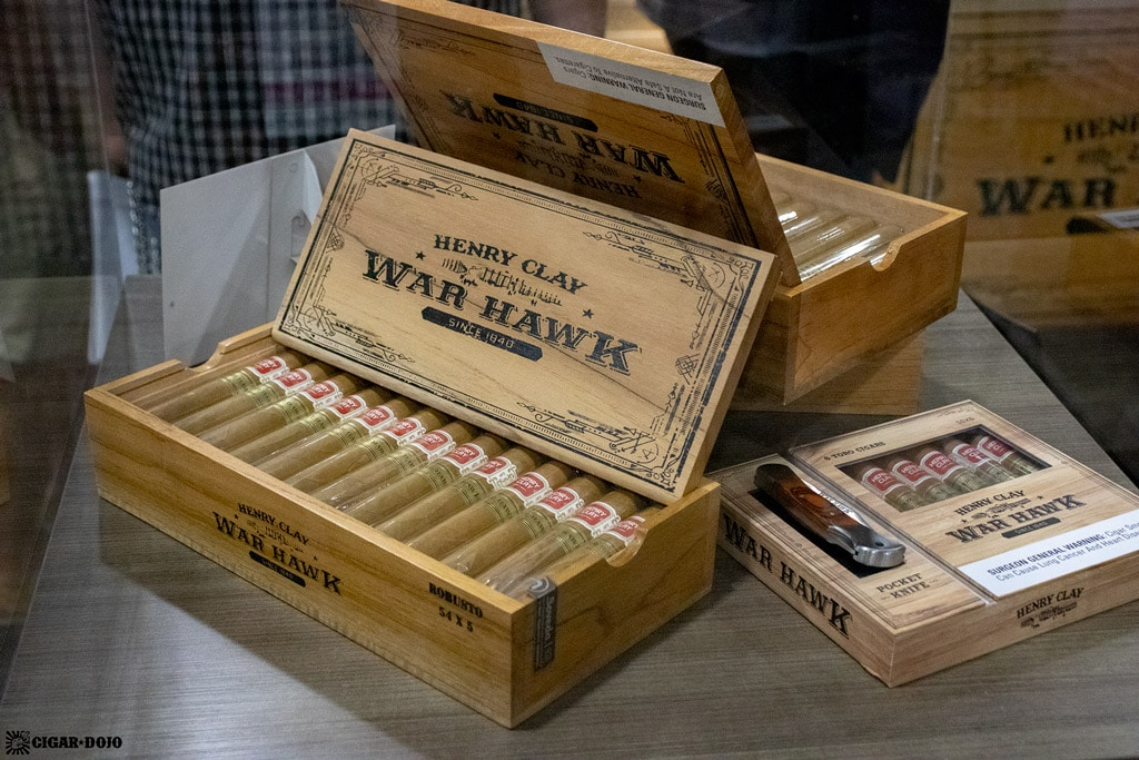 Henry Clay War Hawk cigars IPCPR 2019