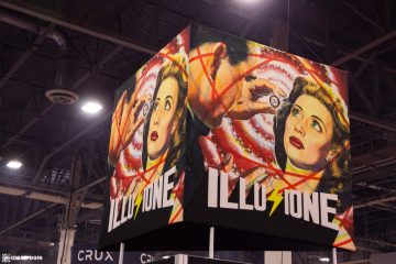 Illusione Cigars booth IPCPR 2019