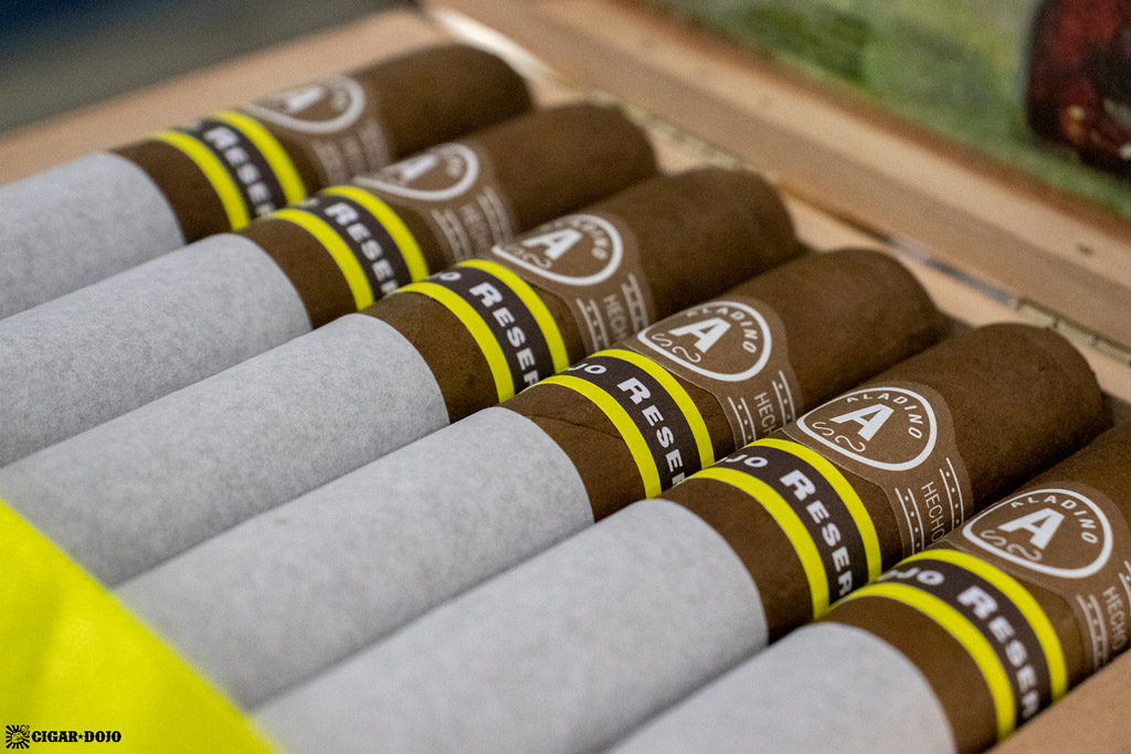 JRE Aladino Corojo Reserva Toro cigars IPCPR 2019