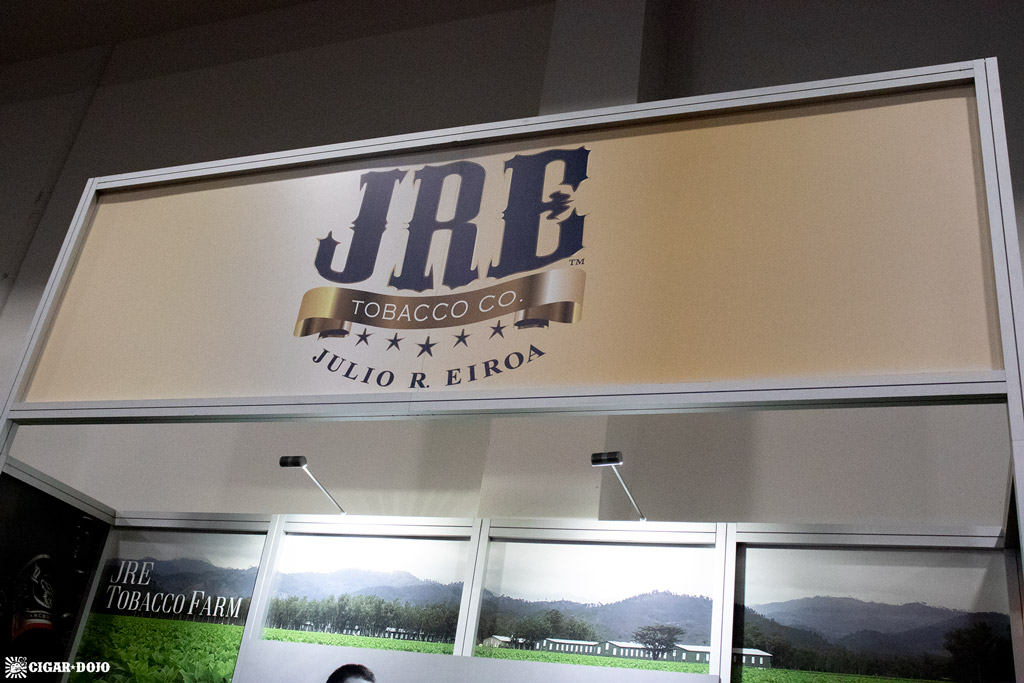 JRE Tobacco Company booth IPCPR 2019