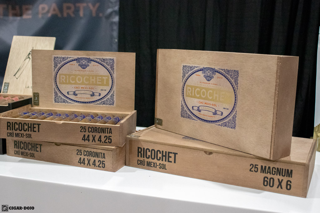 La Barba Cigars Ricochet Crü Mexi-Sol cigar packaging IPCPR 2019