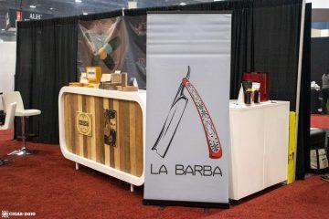 La Barba Cigars booth IPCPR 2019