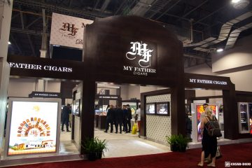My Father Cigars booth IPCPR 2019
