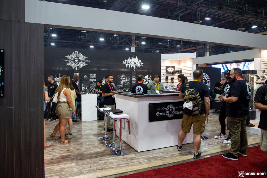 Oveja Negra Brands booth IPCPR 2019