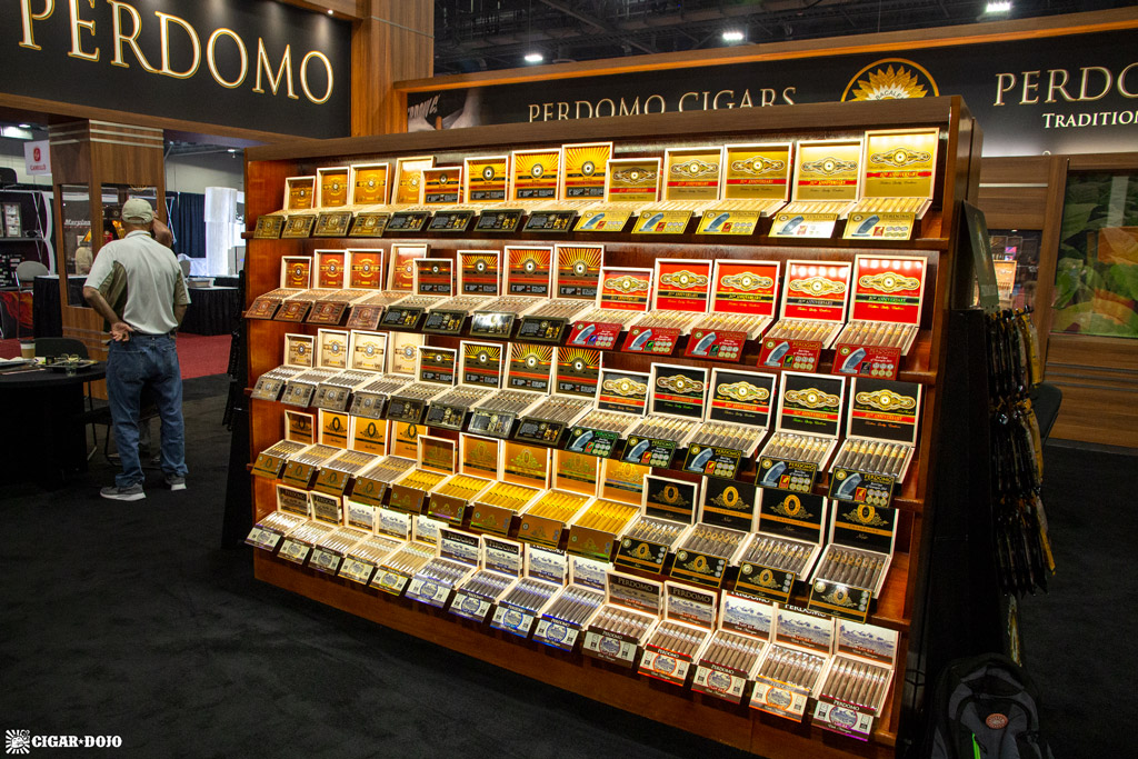 Perdomo cigars display IPCPR 2019
