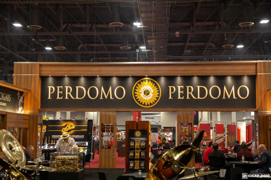 Perdomo Cigars booth IPCPR 2019