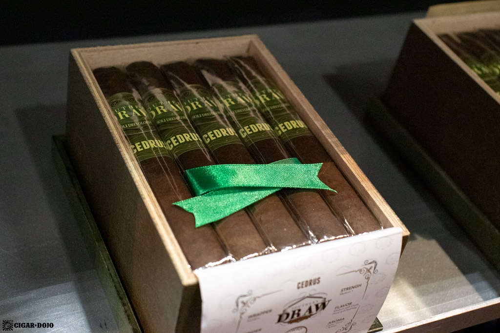 Southern Draw Cigars Cedrus line extension IPCPR 2019