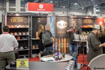 Southern Draw Cigars booth IPCPR 2019