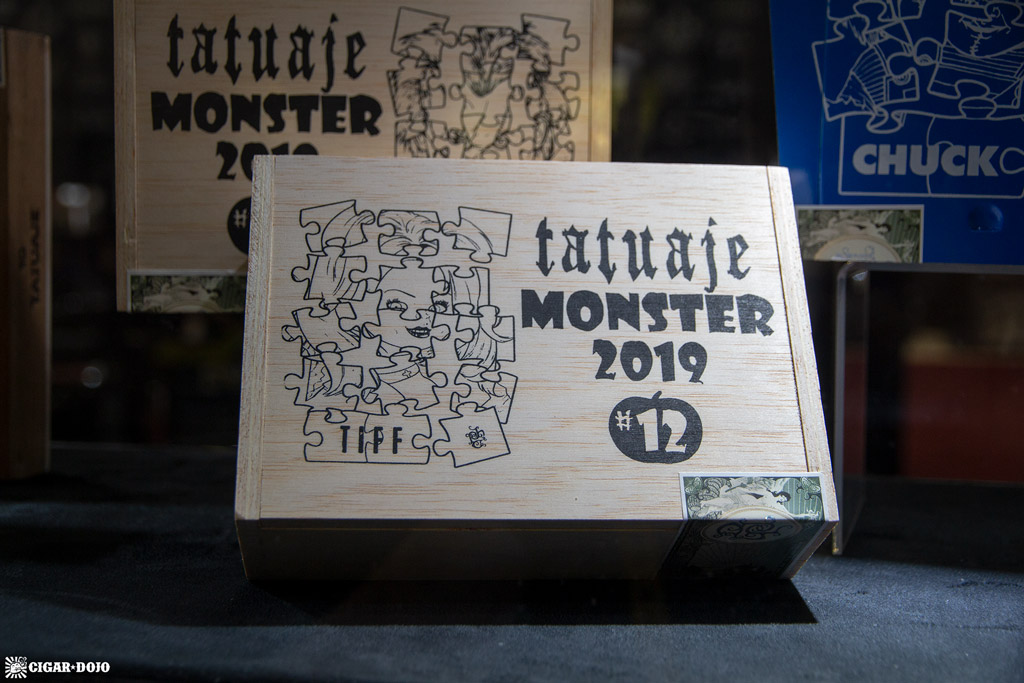 Tatuaje Cigars Monster #12 plain cigar box IPCPR 2019