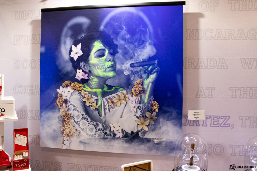 Ventura Cigar Indiana Ortez artwork IPCPR 2019