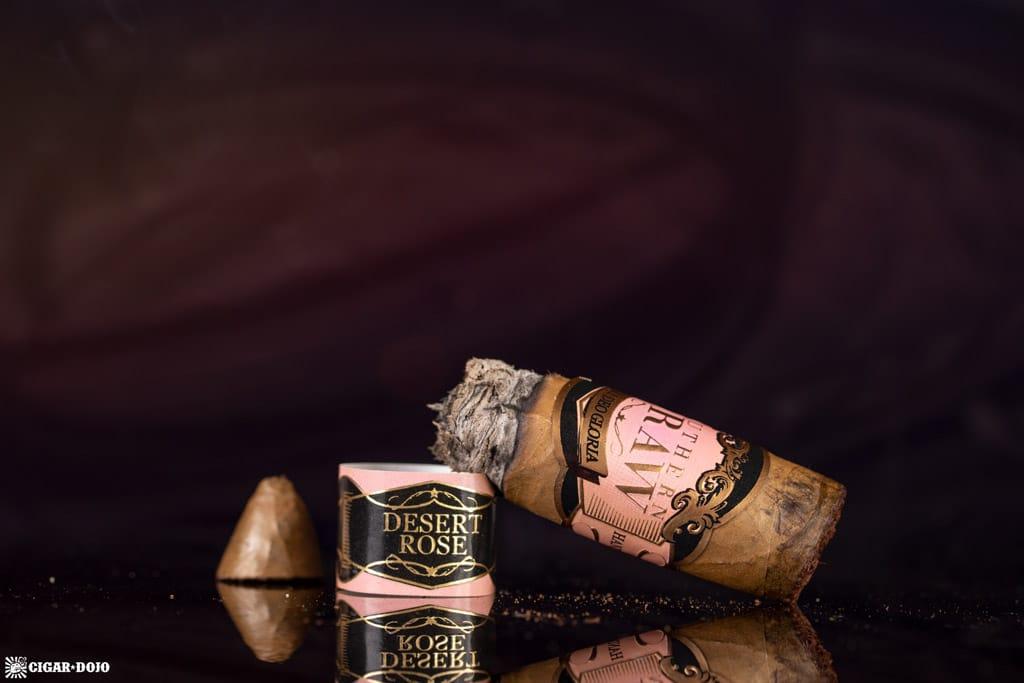 Southern Draw Desert Rose cigar nub finished