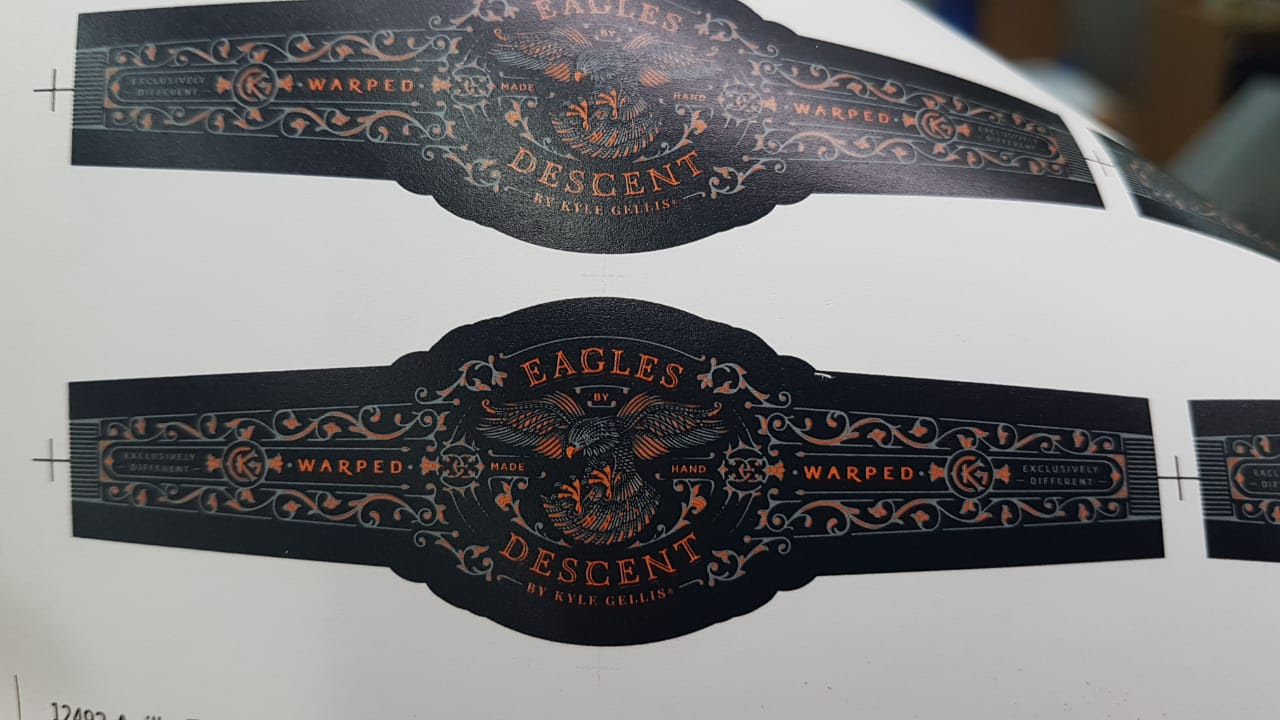 Warped Eagles Descent bands