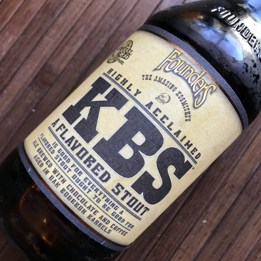 Founders KBS 2019 (Kentucky Breakfast Stout)