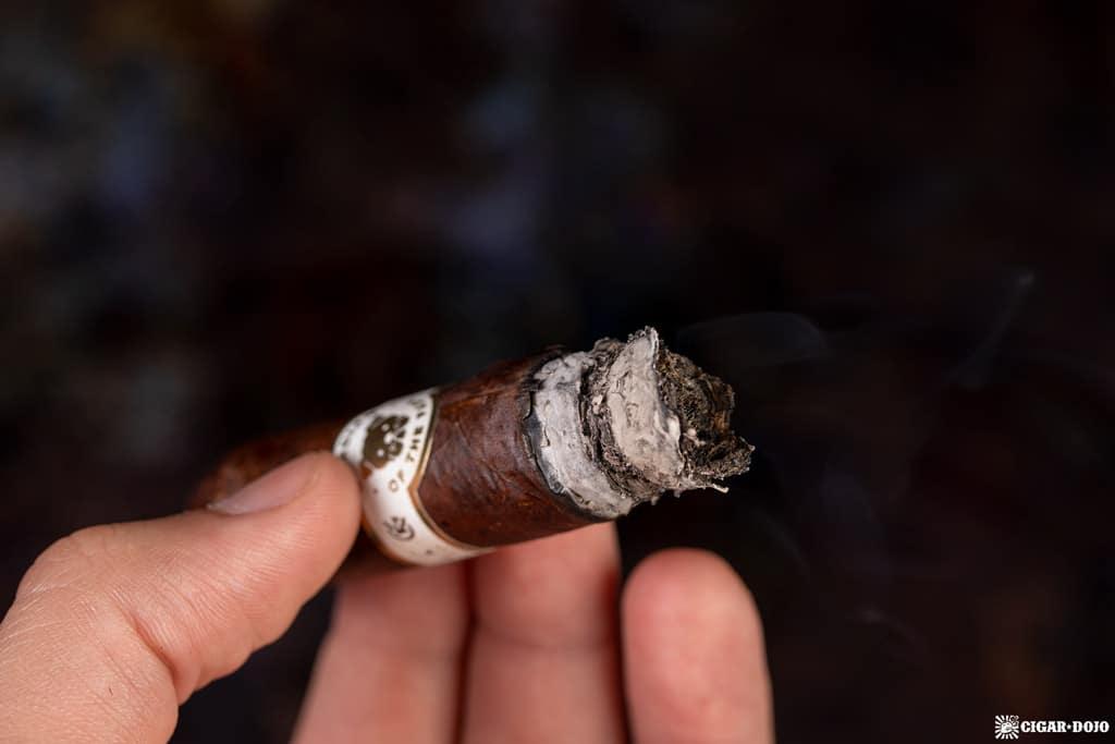 Guardian of the Farm Nightwatch Rambo cigar ash