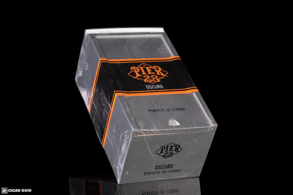 Pier 28 Oscuro cigar box