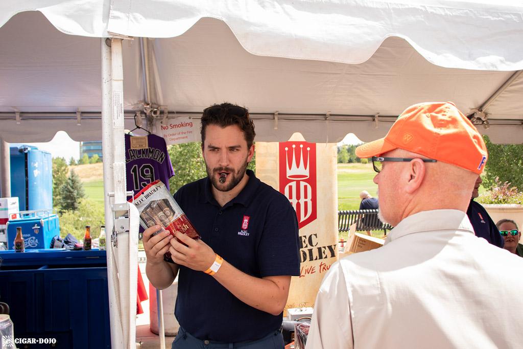 Alec Bradley booth Rocky Mountain Cigar Festival 2019