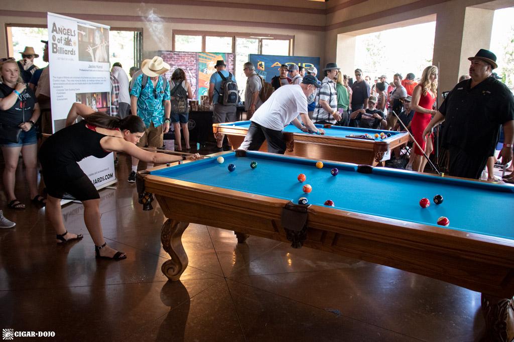 Rocky Mountain Cigar Festival 2019 pool tables