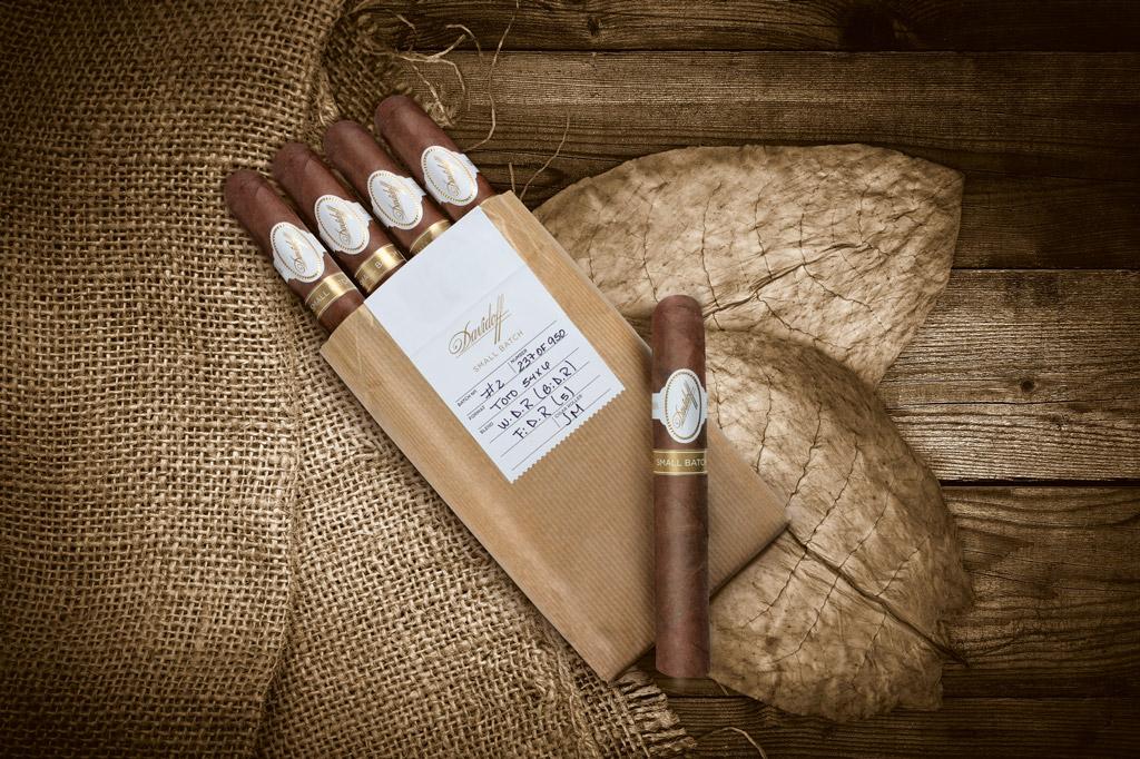 Davidoff Small Batch cigar packaging