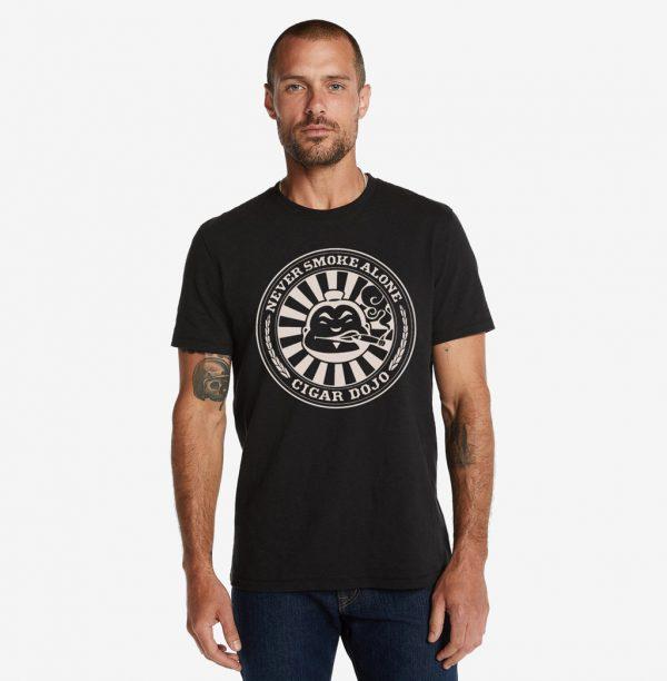 Cigar Dojo Vintage Black *Insignia* shirt model