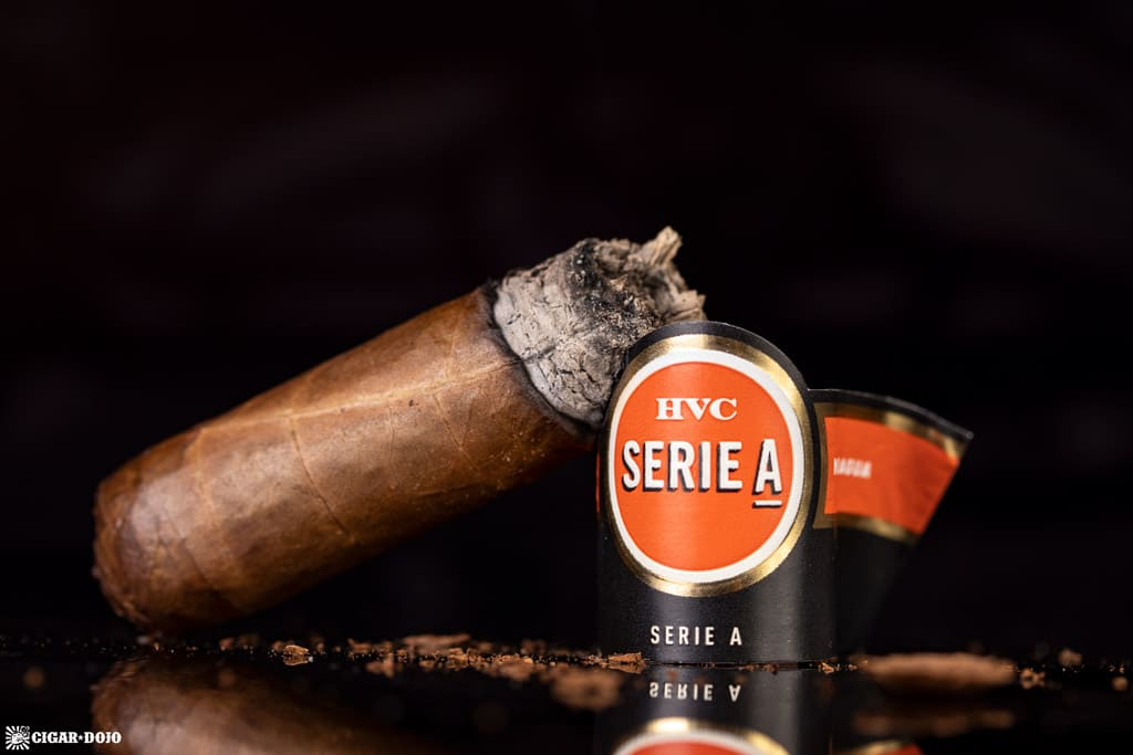 HVC Serie A Perlas cigar nub finished