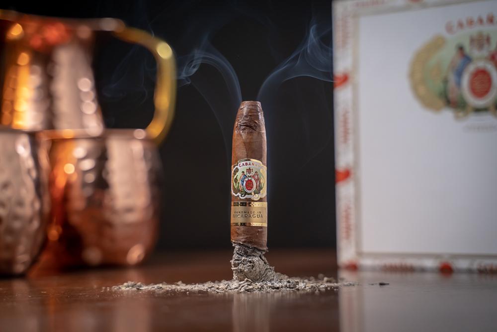 JR Cigar Cabañas cigar smoking