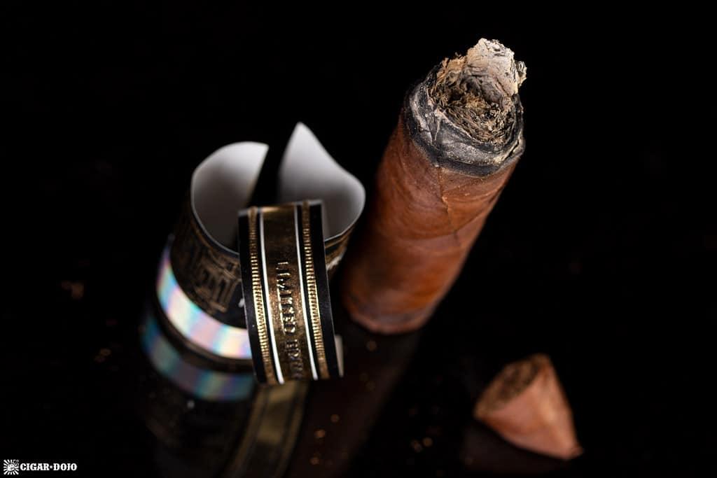 La Aurora 115 Anniversary Limited Edition Belicoso cigar nub finished